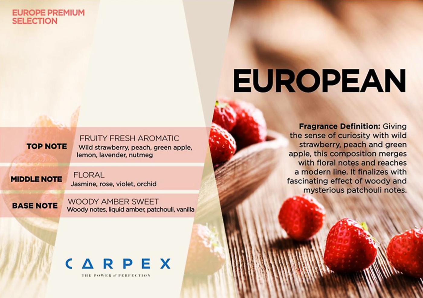 Fragrance EUROPEAN 2