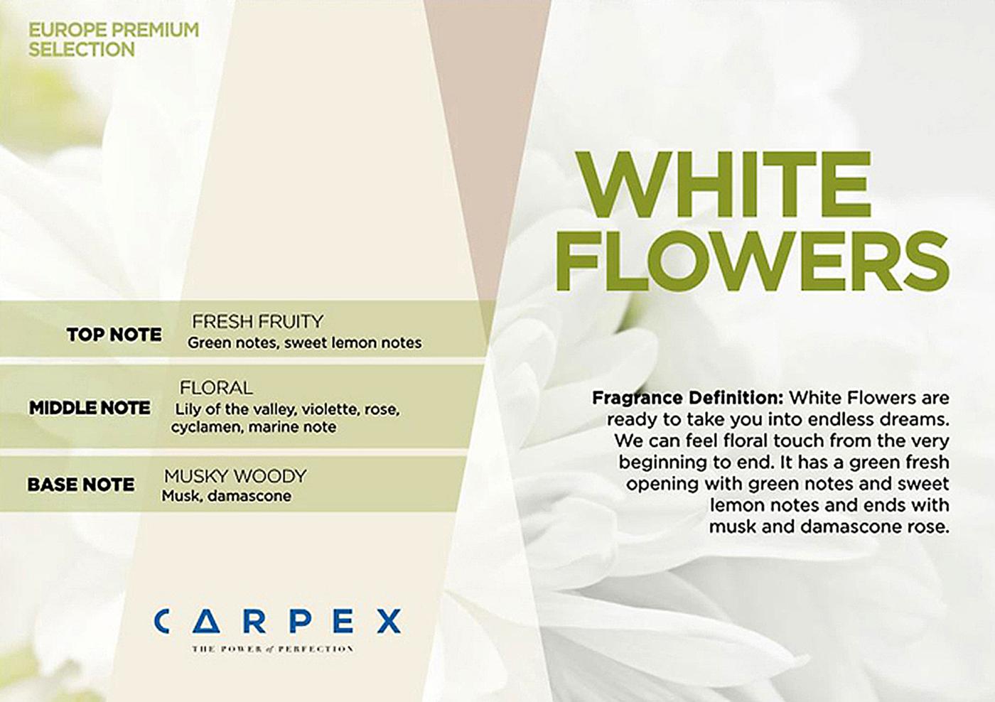 Fragrance WHITE FLOWERS 2