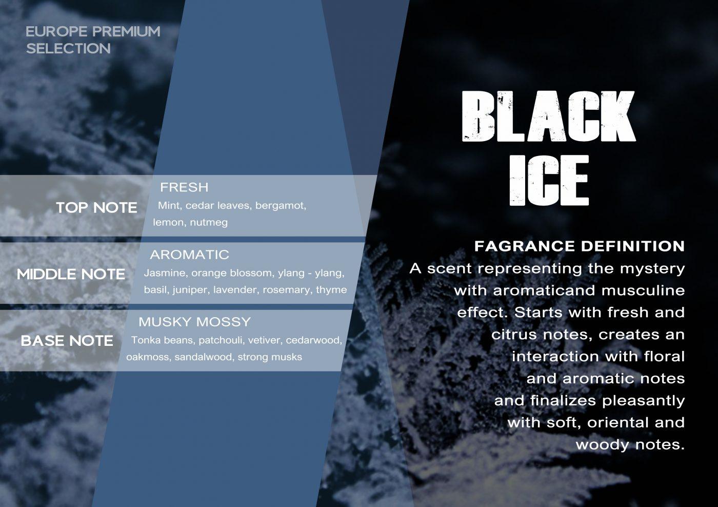 Fragrance BLACK ICE VE - EN