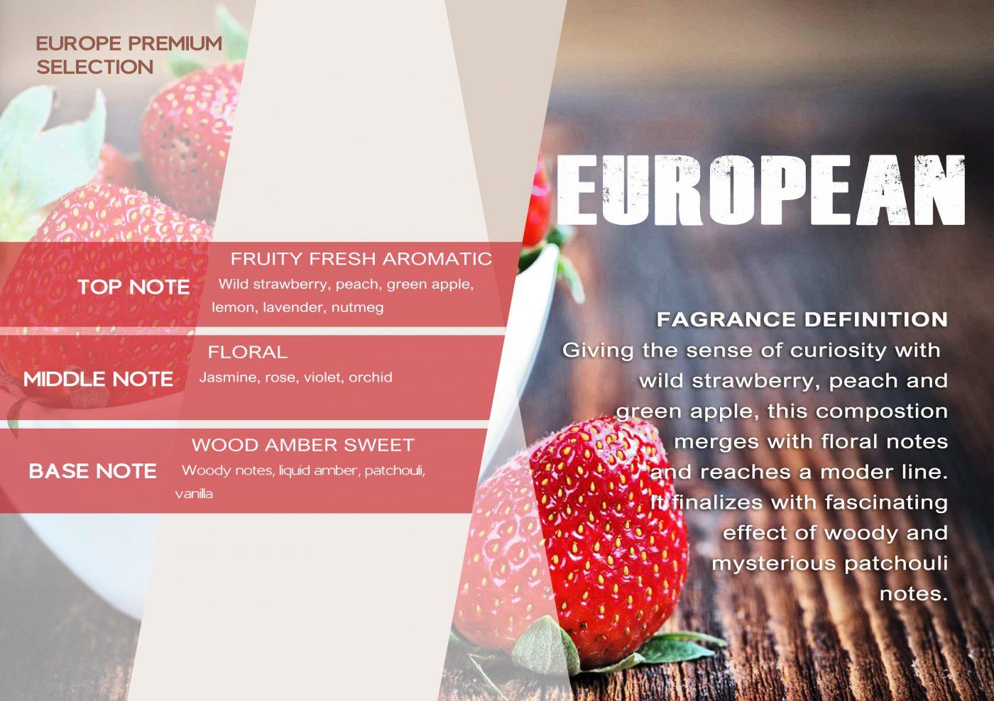 Fragrance EUROPEAN VE - EN