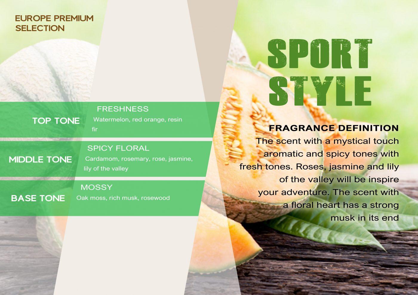 Fragrance SPORT STYLE VE - EN