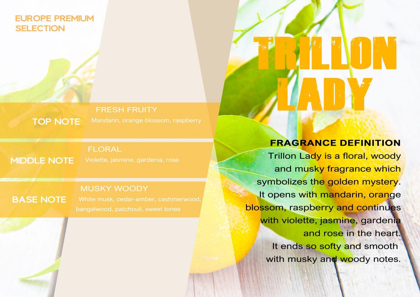 Fragrance TRILLON LADY VE - EN