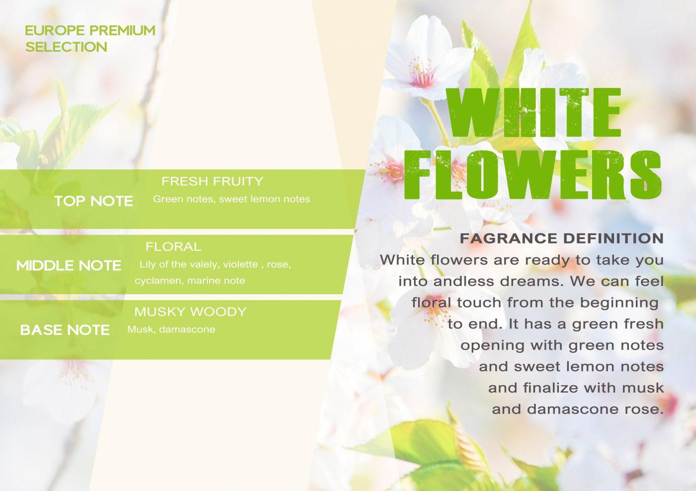 Fragrance WHITE FLOWERS VE - EN