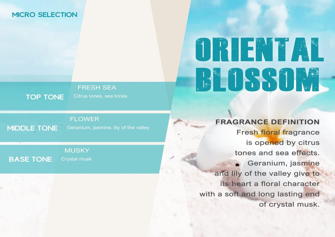 MICROSELECTION Fragrance ORIENTAL BLOSSOM VE - EN